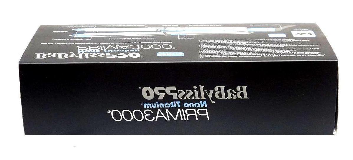 "BaByliss Titanium Prima3000 1.25"" BABSS3000T"