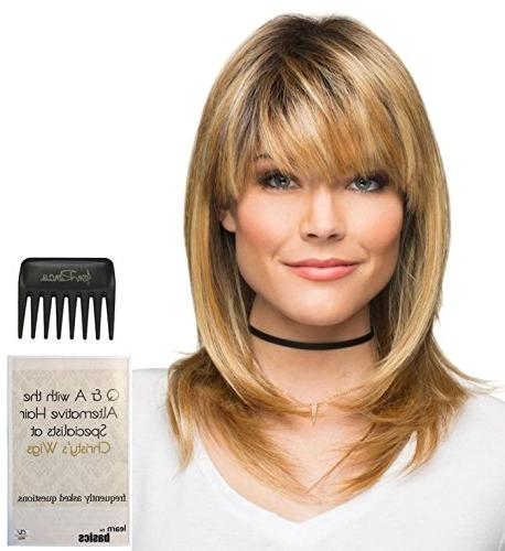 Bundle - 3 Items: Spellbound Wig by Revlon Bold, Christy's W
