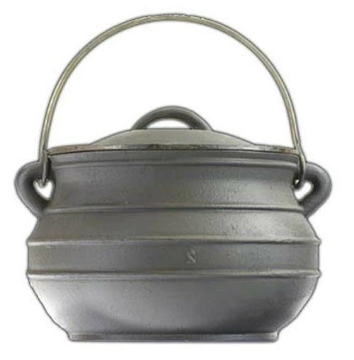 Cast iron Dutch oven #1 Flat bottom Bean pot Cowboy Camp Out