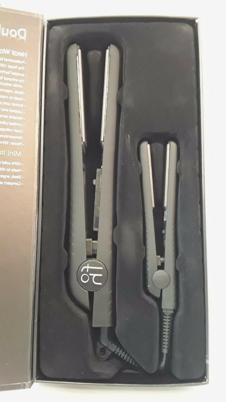 FAHRENHEIT Double Trouble Meadow FLAT IRON 1¼' & Mini Iron