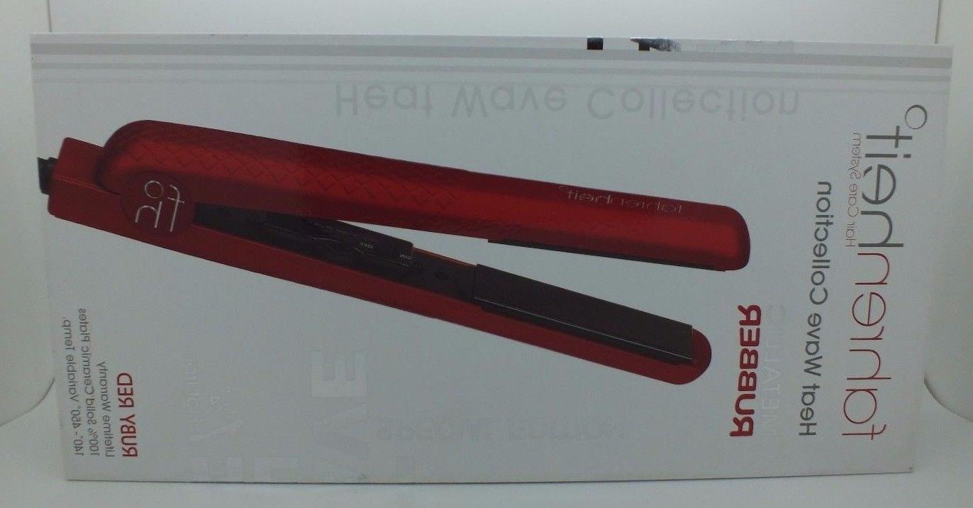 """Fahrenheit 1 1/4"""" Iron Heat Metallic Red"""
