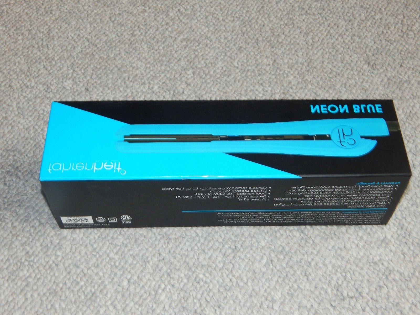 Fahrenheit Neon Collection Flat Iron Variable Temp Dual Voltage