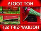 "HOT TOOLS RETRO VIBE 1"" NANO CERAMIC 430° STRAIGHTENER FLAT"