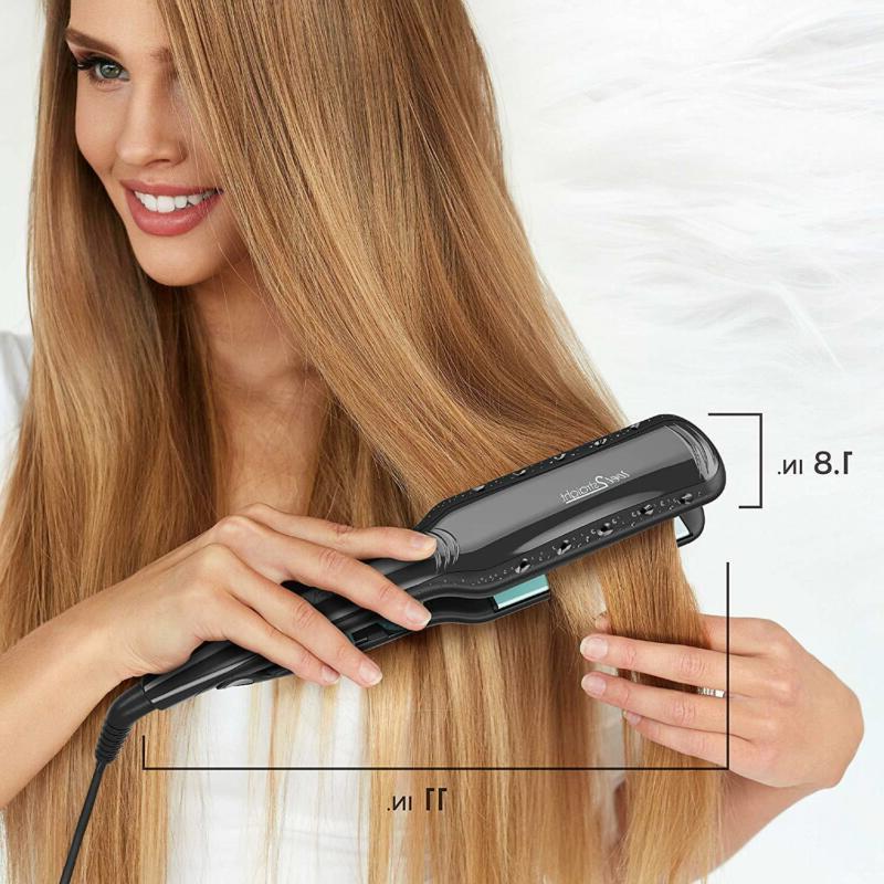 Hair Straightener Remington 2 1 Steam Vents