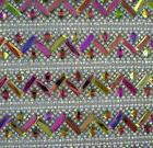 Hotfix iron 8 rows  colorful glass crystal lots face Flat Ba