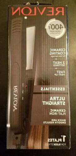 Revlon Ceramic Flat Iron for Ultra Straight Hair and Smooth