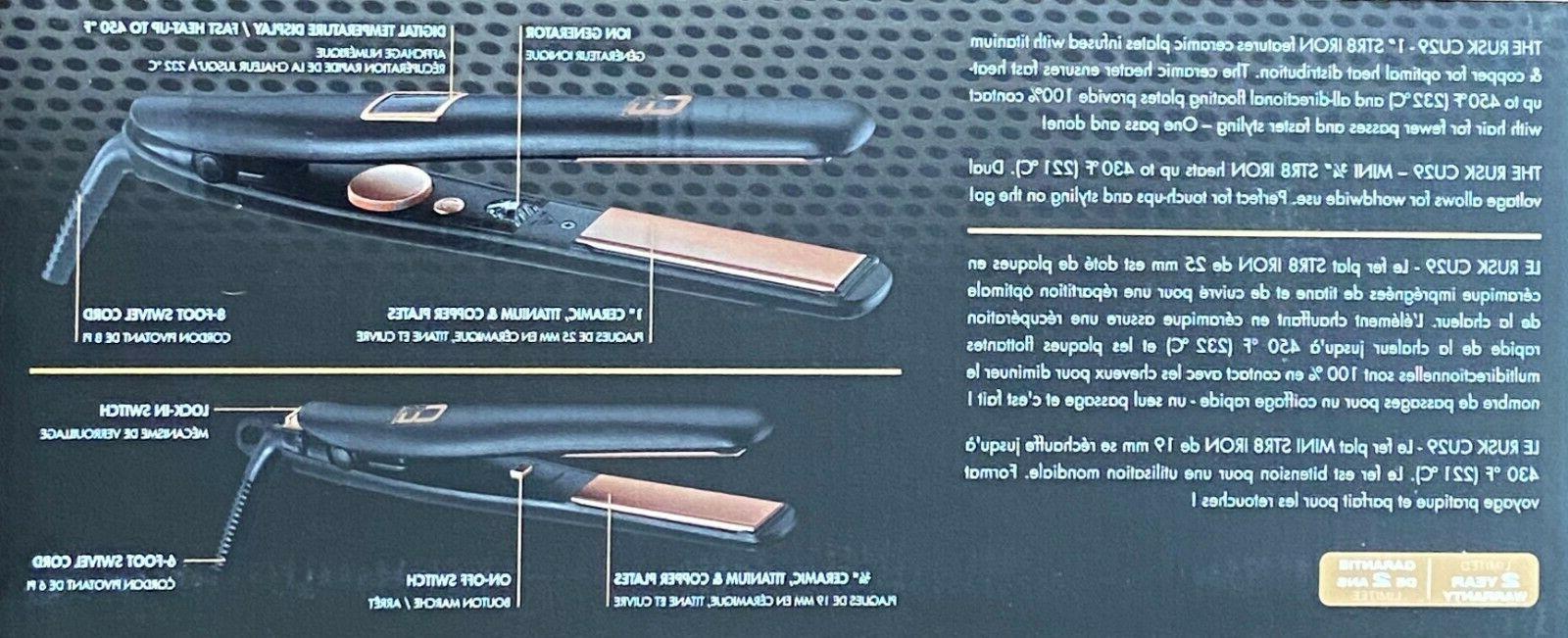 RUSK CU STR8 IRON 450° COPPER