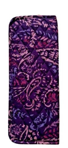 Vera Bradley Curling and Flat Iron Cover Paisley Amethyst -