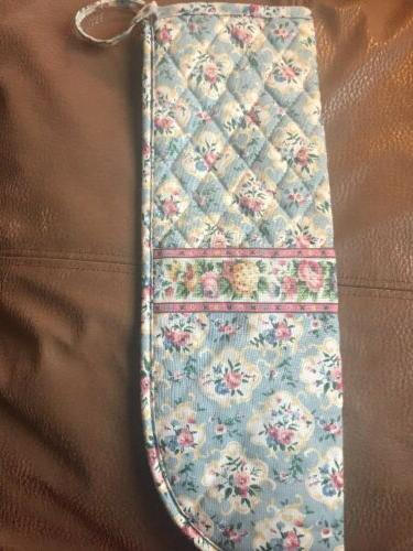 VERA BRADLEY Curling Iron Cover PASTEL BLUE New without Tags