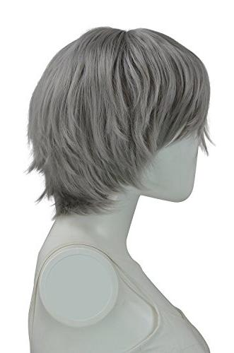 Epic Cosplay Gunmetal Grey Short Inches