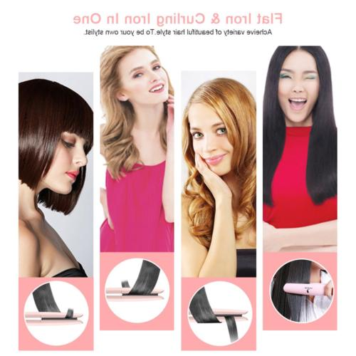 MiroPure Flat Iron Straightener with Suitable for