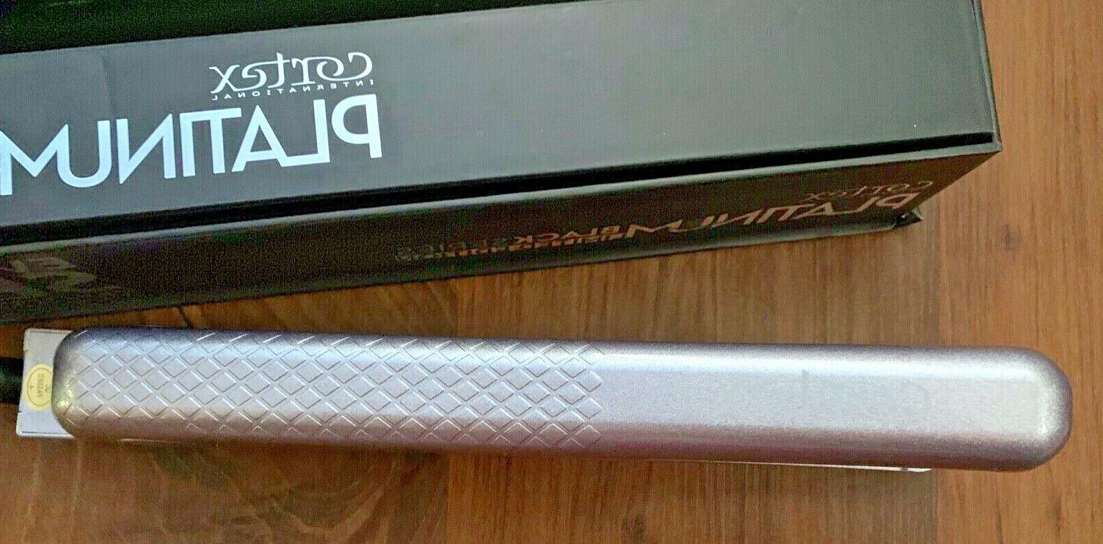 "Flat Iron Platinum Black Ser. Lim. Lavender Wave 1-1/4"""
