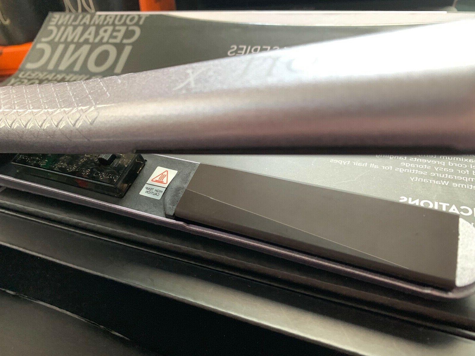 "Flat Iron Cortex Black Ser. Lavender 1-1/4"""