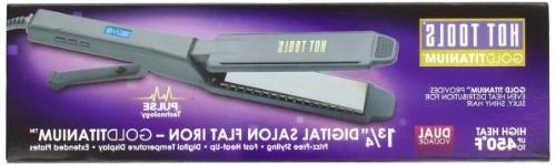 flat iron titanium