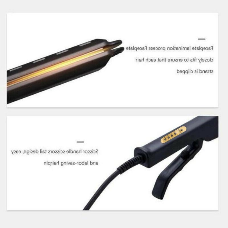 Four-gear Ceramic Tourmaline Ionic Flat Iron Hair Straightener