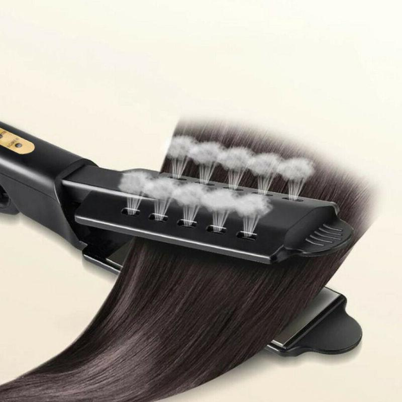 Professional Infusion Flat Steam Hair Straightener