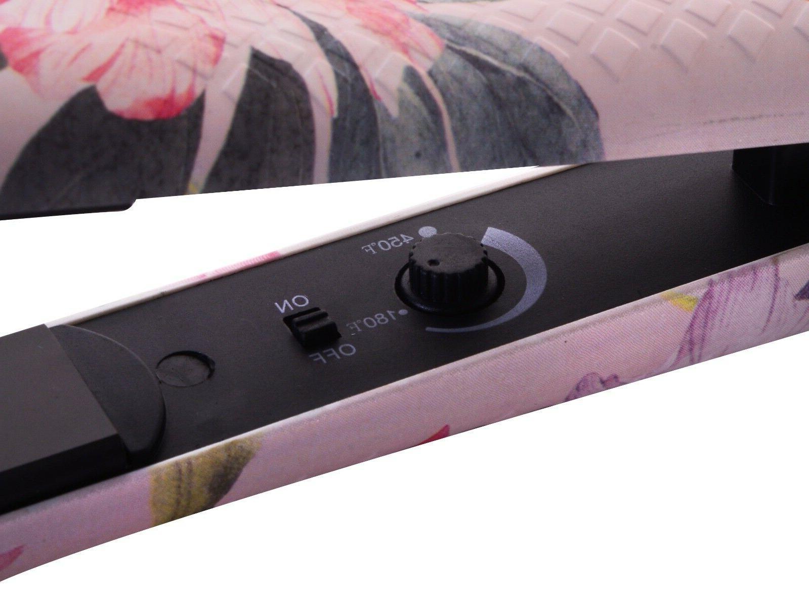 Flat Pink Voltage Hair