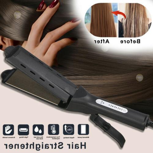 Scissors Handle Tourmaline Ionic Flat Hair Straightener