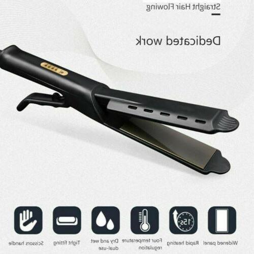 Profession Four-Gear Hair Straightener Flat