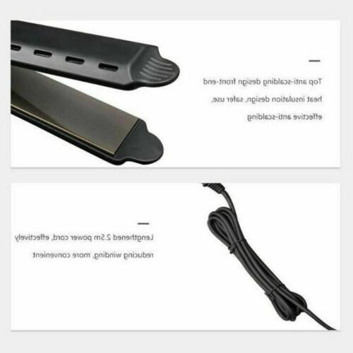 Hair Ionic Flat Iron Professional Glider US Plug