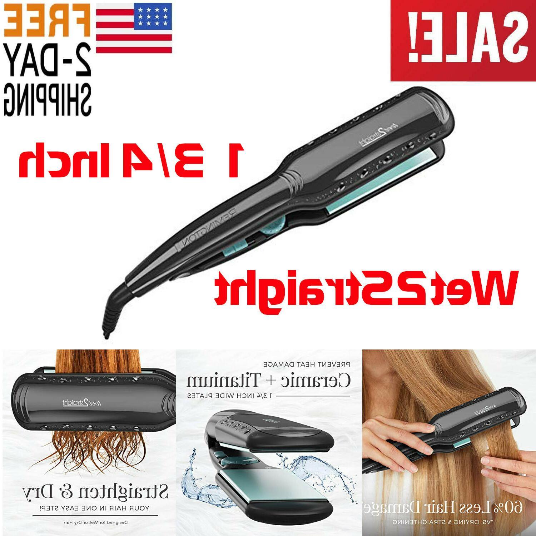 hair straightener flat iron remington wet 2