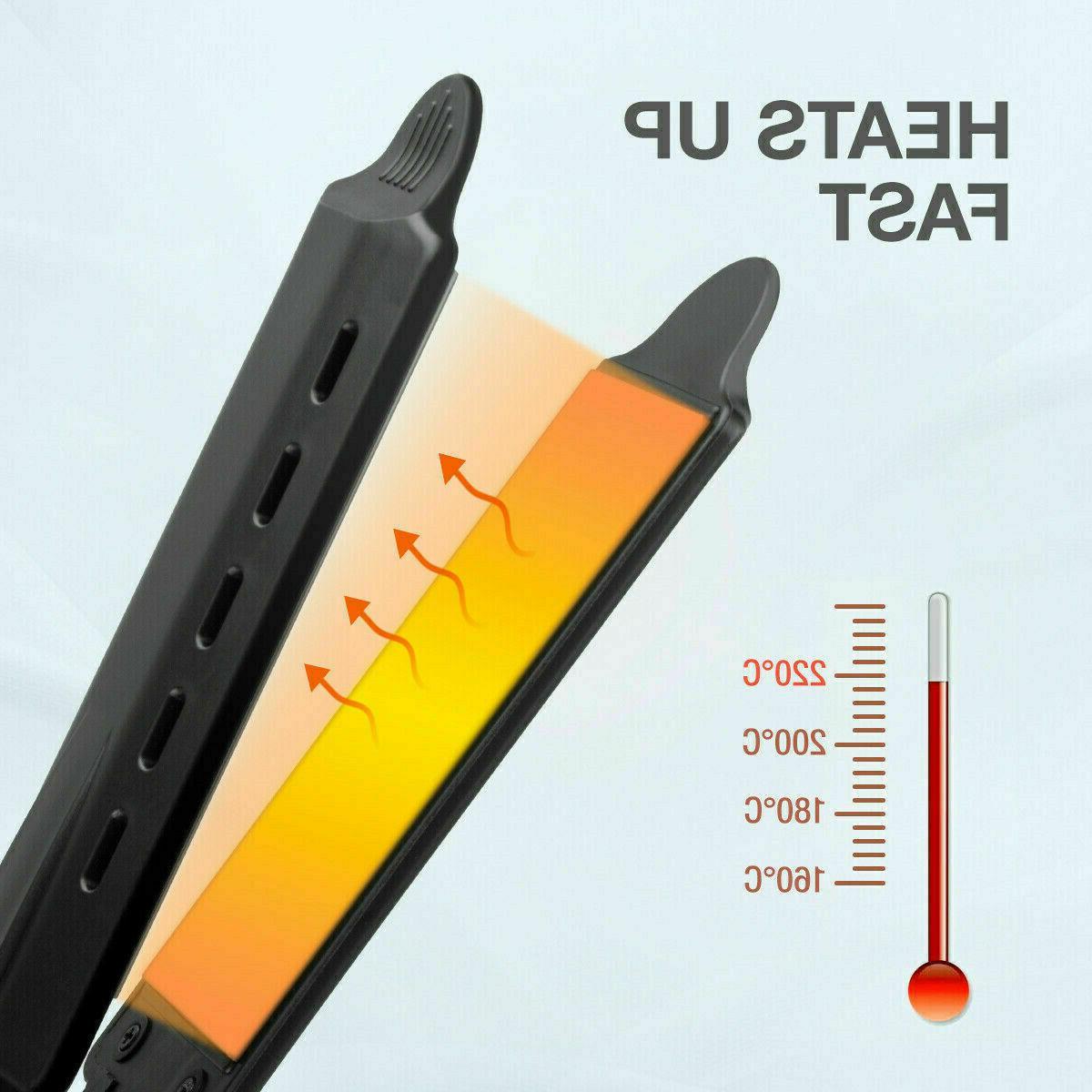 Hair Straightener Glider Iron Tourmaline Ionic