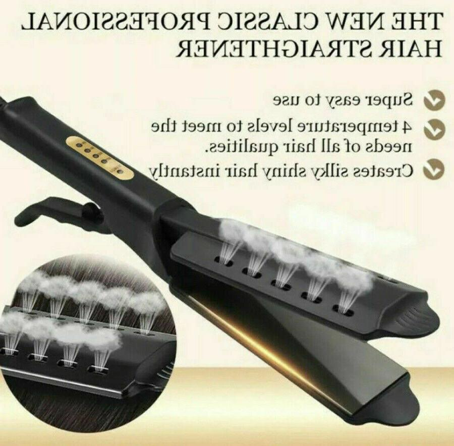 Hair Iron Four Ceramic Tourmaline
