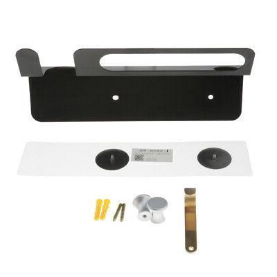 heavyduty wall mount hair dryer holder rack