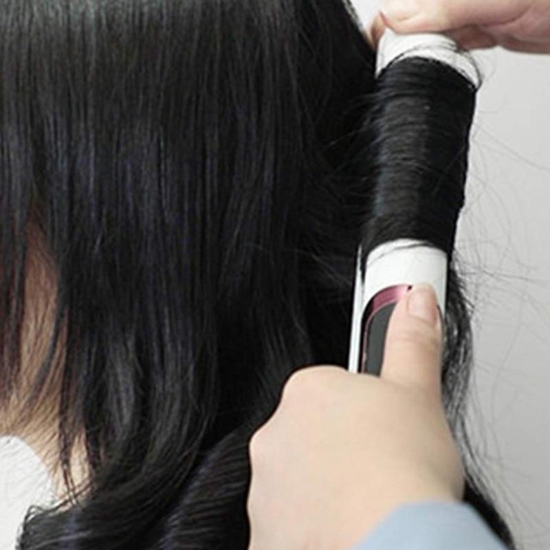 Hot Hair Straightener For Straight Curly Hair Dry-Wet Dual <font><b>Iron</b></font> Digital Straightening Eu Plug