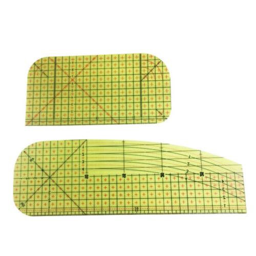 Hot Iron Ruler Flat Iron Craft Tools Patchwork Accessories Hand Tool