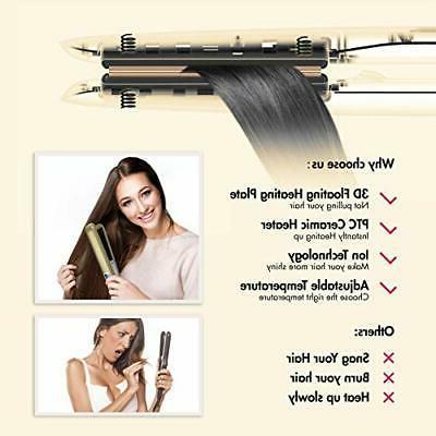 KIPOZI Flat Iron,450F Salon Heat,