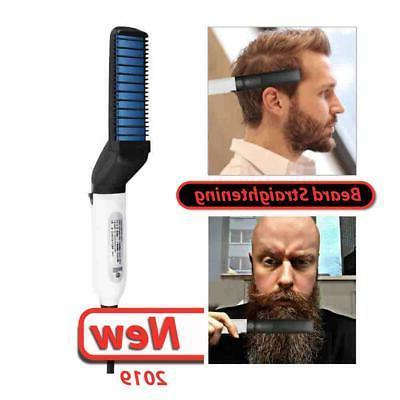 modelling comb hair styler ceramic flat iron