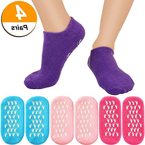 moisturizing gel socks soft spa