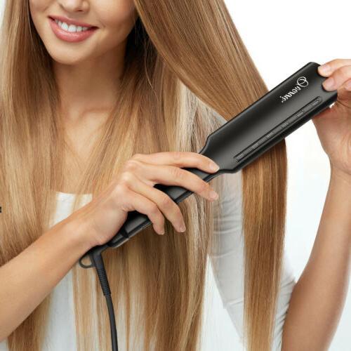 Professional Titanium Hair Ceramic Iron Instant