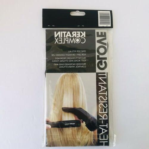 new flat iron heat resistant thermal glove