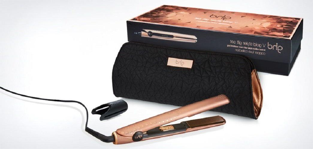 NEW GHD GOLD GIFT FLAT 450°