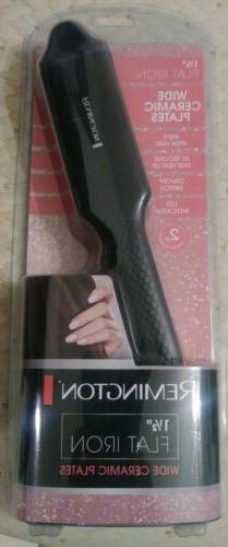 """NEW"" Remington Wide Ceramic 11/2 Flat Iron Ceramic Plates f"