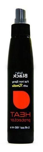 Nicka K Tyche Black Flat Iron Spray Heat Protector Hair Trea