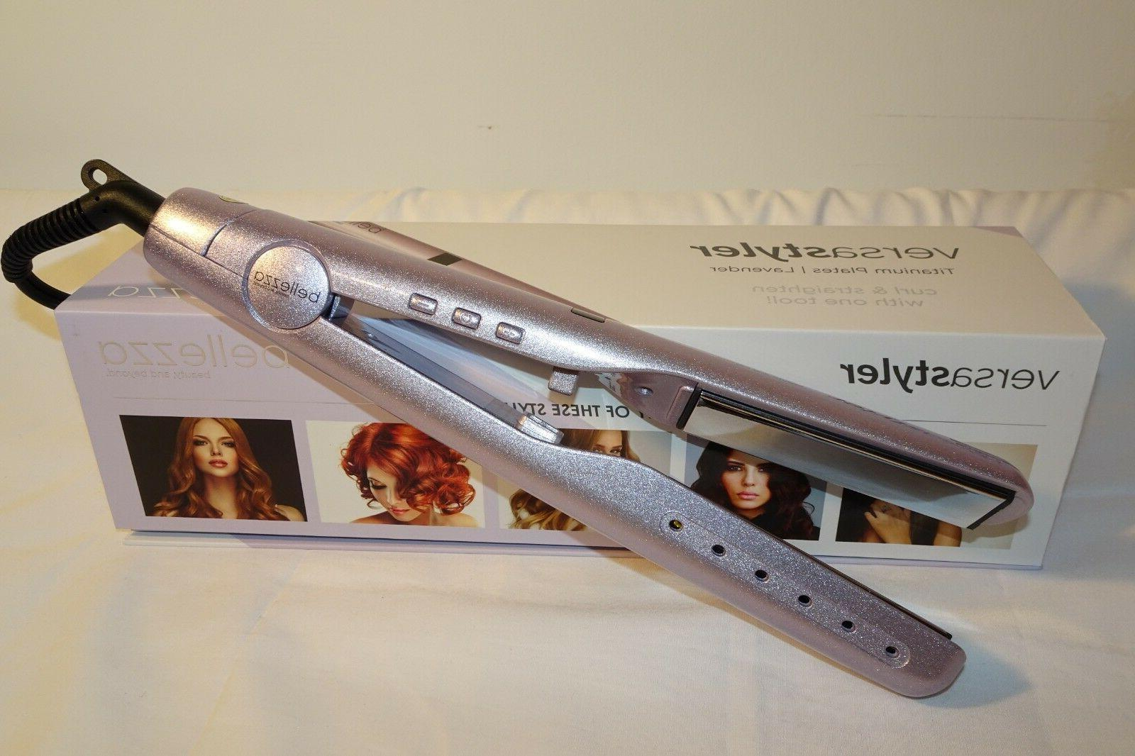 Original Bellezza versa styler  blush pink Iron Hair Straightener
