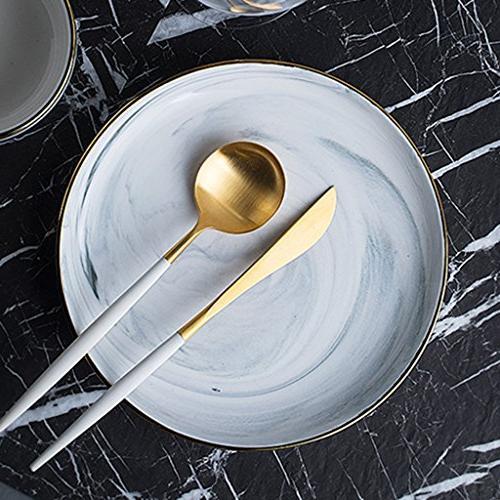 plates dinner round white