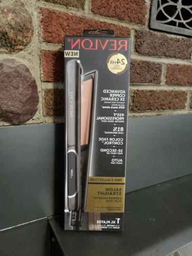 pro collection salon straight copper smooth flat