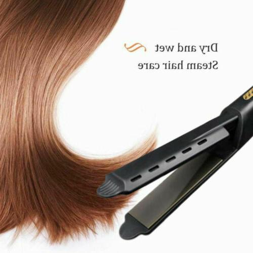 Professional Vapor Flat Iron Hair Straightener