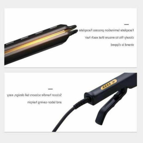 Professional Glider Straightener Ionic Iron with Adjustable