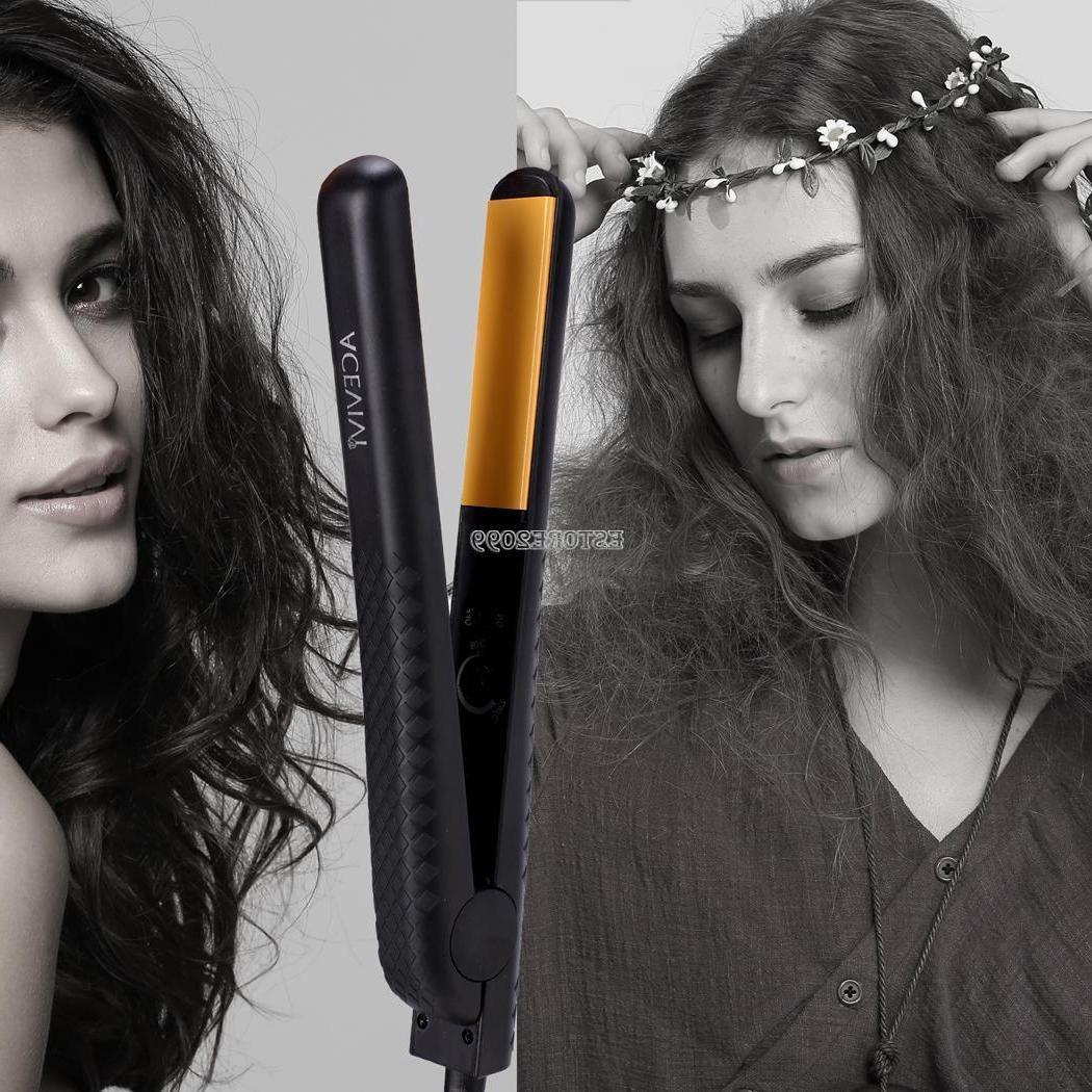 Professional Hair Care Flat Iron Steam Hair Straightener Sty
