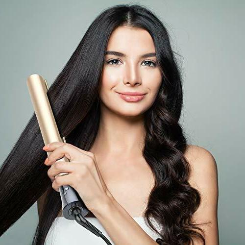 Professional Hair Straightener Curler in PURKOO Iron 1