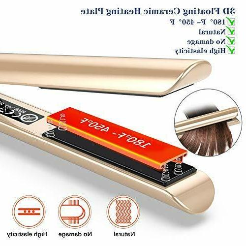 Professional Hair Curler 2 PURKOO Flat 1