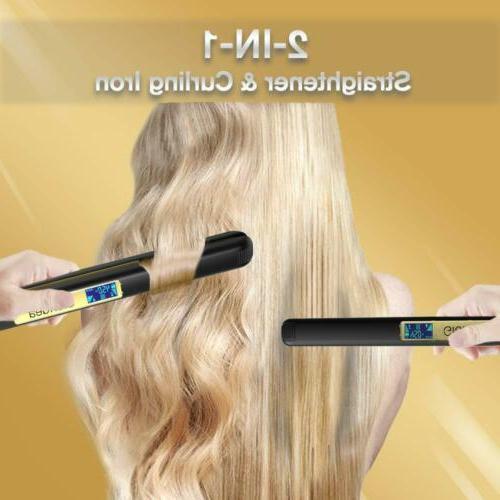 KIPOZI Curler Flat Iron Hair Voltage