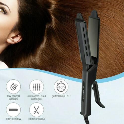Professional Hair Ionic Flat Iron Salon Tool