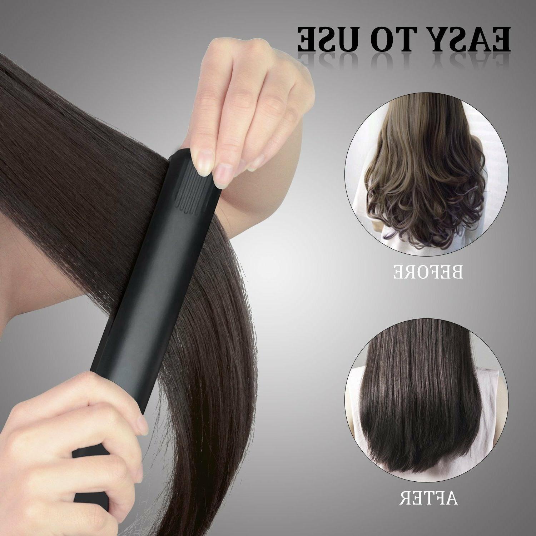 Professional Hair Flat Negative Black