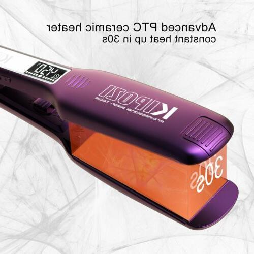 KIPOZI Professional Titanium Straightener 1.75 Plates